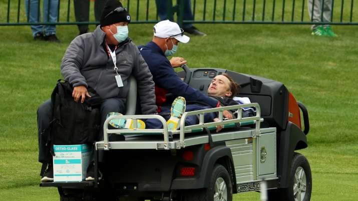 Tom Felton's friend shares health update after Harry Potter star collapses at golf match