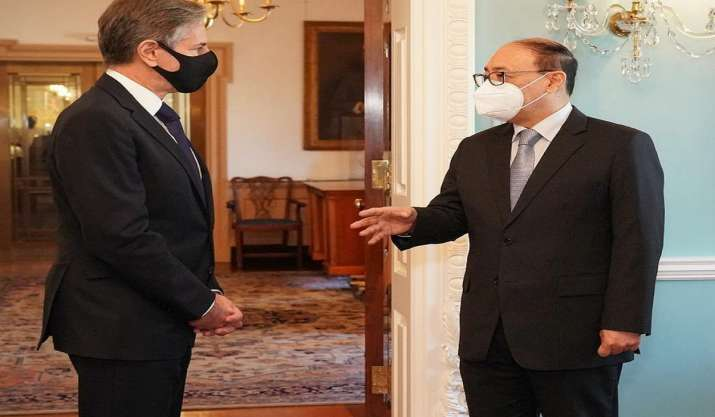 FS Shringla meets US Secretary of State, discusses
