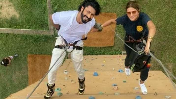 Vidyut Jammwal engaged to Nandita Mahtani