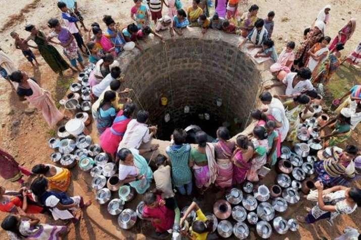 rajasthan water crisis, pali district, water trains