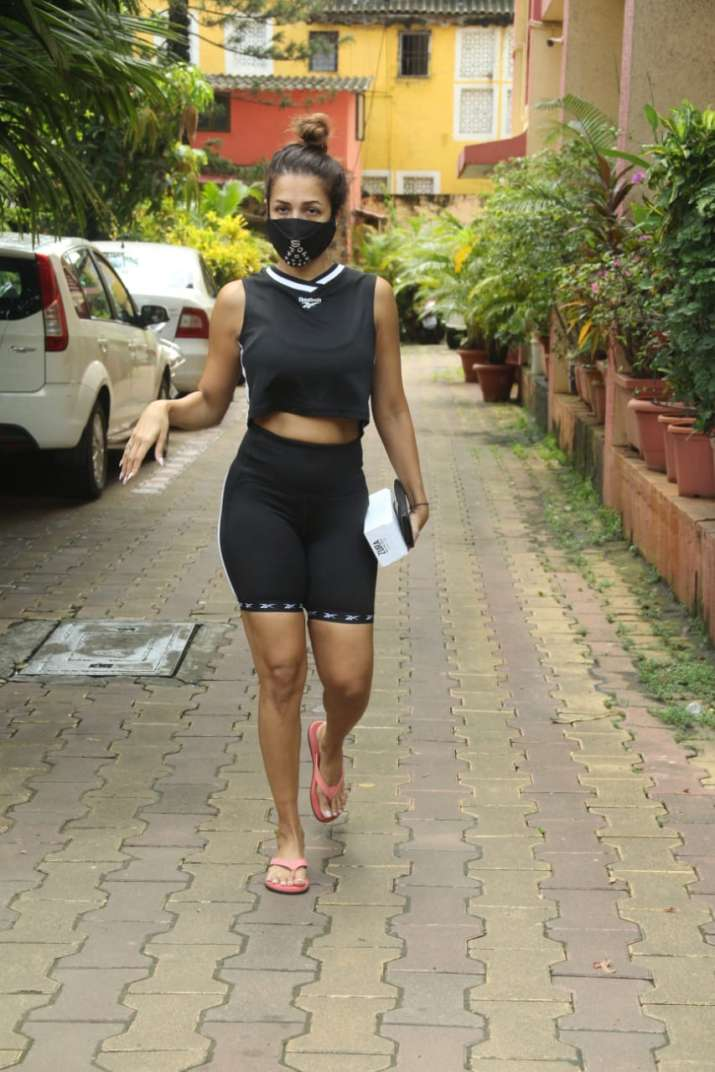 India Tv - Malaika Arora spotted outside her yoga class