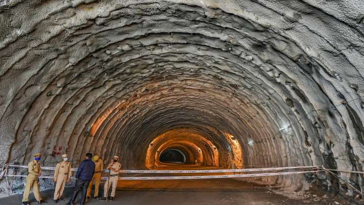 India Tv - Nitin Gadkari, Zojila Tunnel
