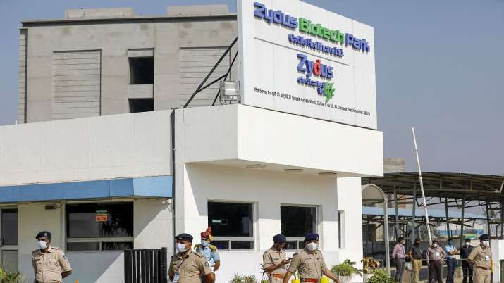 Zydus Biotech park at Changodar in Ahmedabad.