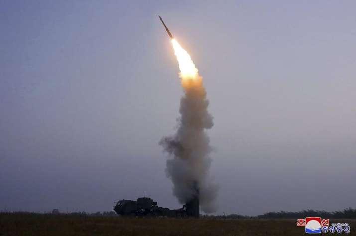 north korea missile test fire