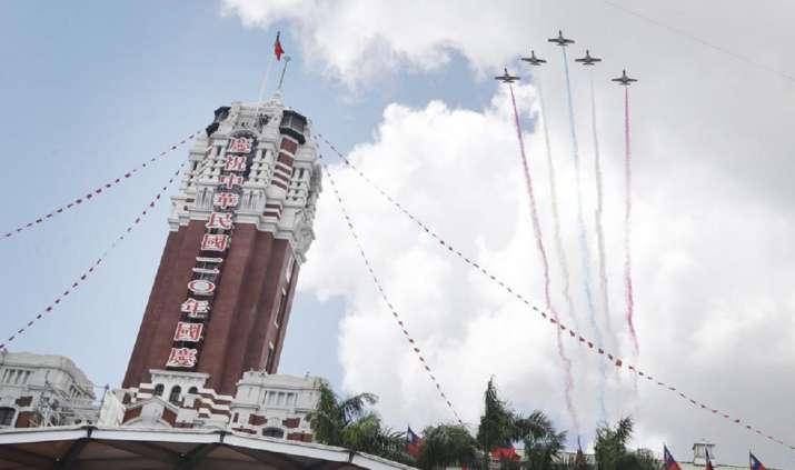 china taiwan airspace