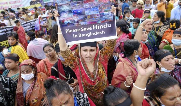 Bangladesh communal violence: Massive protests, hunger strike to demand security of religious minorities