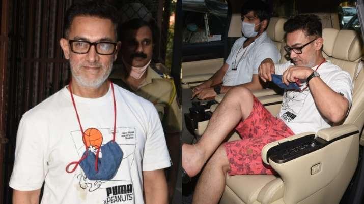 Aamir Khan's look in white beard goes viral, seen pics yet?