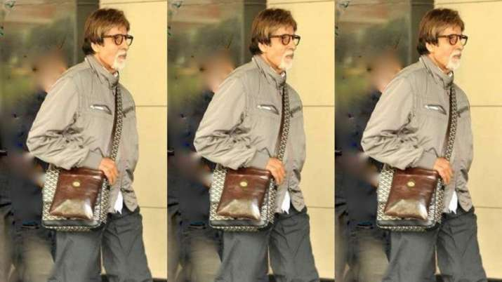 Amitabh Bachchan makes special post on birthday as he 'walks into the 80th,' daughter Shweta spots a