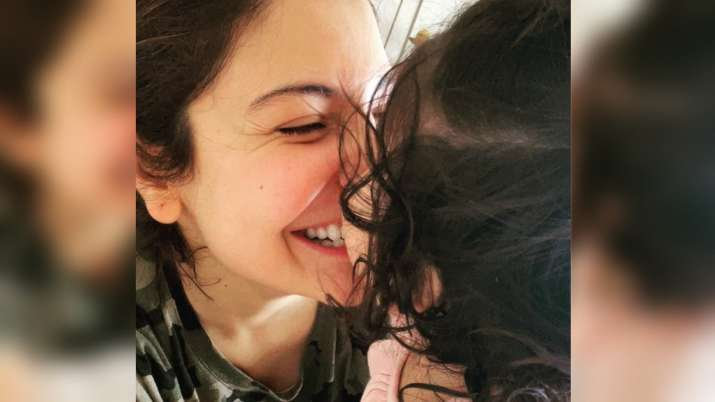 Anushka Sharma shares adorable pic with her daughter Vamika as she sends wishes on Ashtami