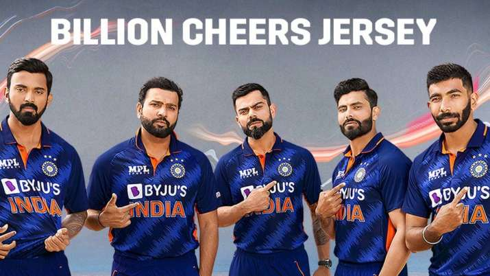Indian cricket board (BCCI) took to social media to reveal the new jersey of Indian team ahead of th
