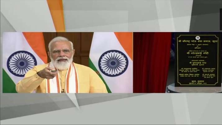 Prime Minister Narendra Modi, Bhoomi Poojan, BHoomi poojan ceremony, Surat Hostel Phase one, latest