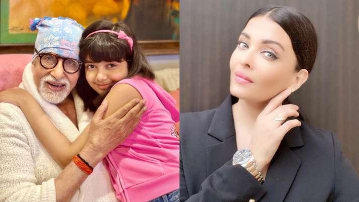 How Aishwarya Rai, daughter Aaradhya wished Amitabh Bachchan on his 79th birthday