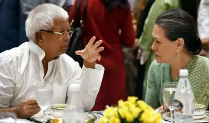 Sonia Gandhi, Lalu Yadav hold telephonic conversation amid 'trouble' in Bihar grand alliance
