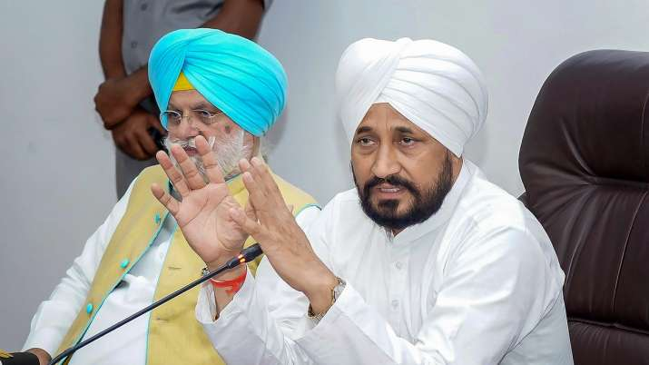 Punjab Chief Minister Charanjit Singh Channi.