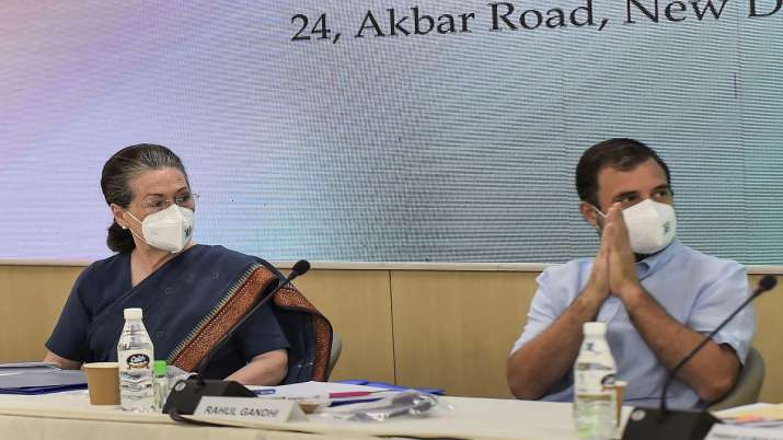 Congress leaders feel need to amend party's constitution during meeting at Delhi headquarters