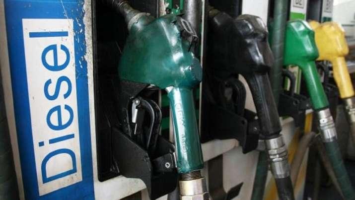 Diesel price crosses Rs 100 in Kerala