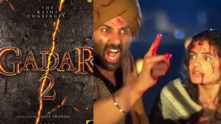 Gadar 2: Sunny Deol, Ameesha Patel reunite for sequel after 20 years, actors share motion poster on Dussehra