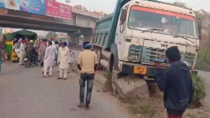 Three women run over by speeding truck near farmers' protest site in Haryana
