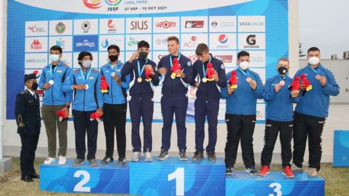 Men's trap team wins silver for India's 20th medal at Junior Shooting Worlds