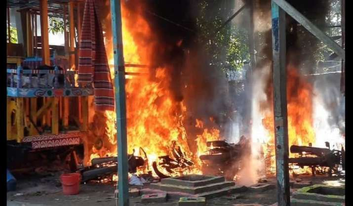 'We saw them coming and cops disappeared': Eyewitnesses in Bangladesh temple attacks recount horror