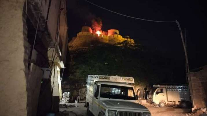 A Major Fire Broke Out at Jaisalmer Fort