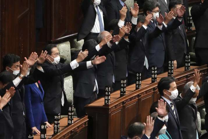 Japan PM dissolves lower house for October 31 national election