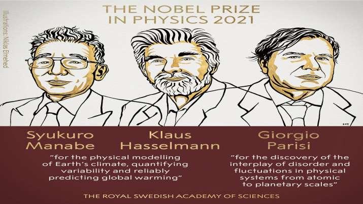 Syukuro Manabe, Klaus Hasselmann and Giorgio Parisi win 2021 Nobel Prize in Physics