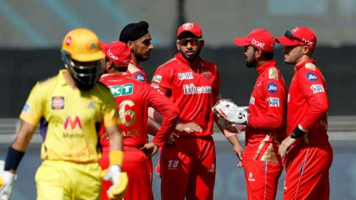CSK vs PBKS Live Score IPL 2021: Punjab in command as Chennai lose 3