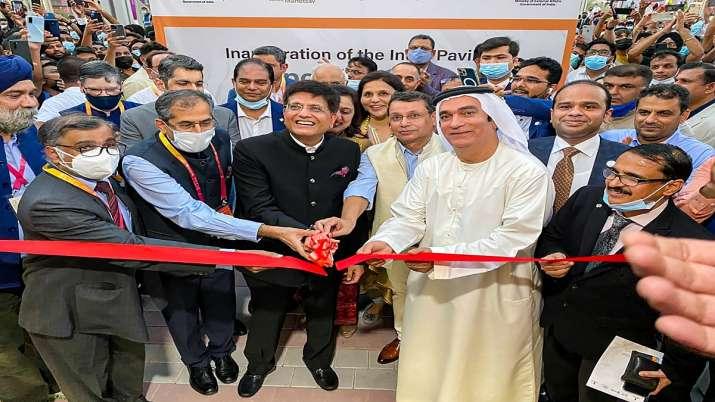 India Pavilion at Expo 2020 Dubai, Dubai Expo 2020, World, India, trusted partner, Piyush Goyal, lat