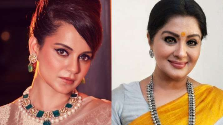 Kangana Ranaut comes out in support of Sudhaa Chandran after airport incident