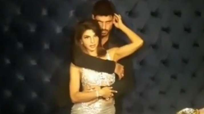 Jacqueline Fernandez shooting with '365 Days' star Michele Morrone in Dubai