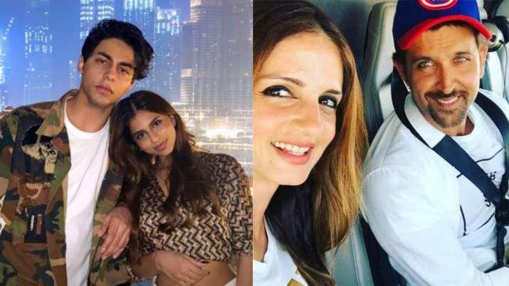 Here's how Suhana Khan reacted to Hrithik Roshan's post for Aryan Khan; Alia Bhatt, Sussanne Khan show support