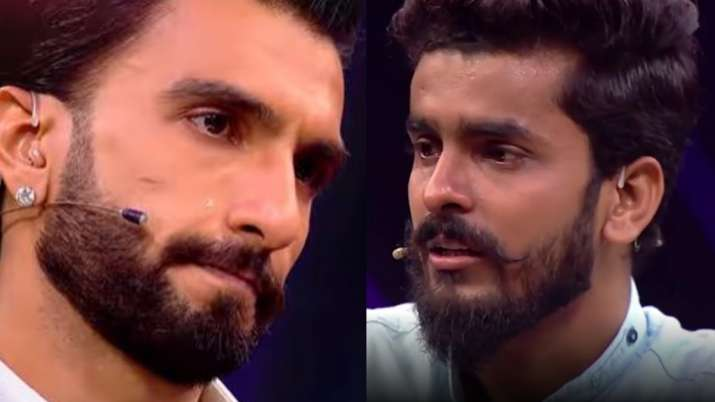 Ranveer Singh gets teary-eyed after hearing contestant's story on The Big Picture | WATCH