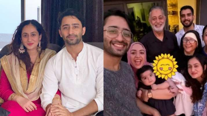 Shaheer Sheikh's first pic with daughter Anaya and wife Ruchikaa Kapoor is sure to melt your heart
