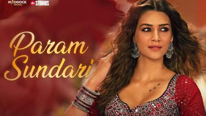 Kriti Sanon's 'Param Sundari' song makes it to global Billboard charts