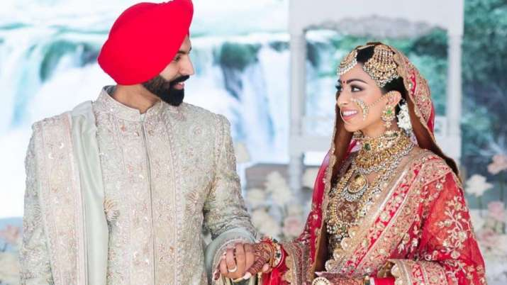 Punjabi singer Parmish Verma ties the knot with Canadian politician Geet Grewal in dreamy wedding