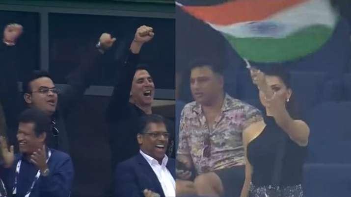 Ind Vs Pak: Akshay Kumar, Preity Zinta, Urvashi Rautela attend T20 World Cup face-off