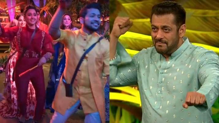 Bigg Boss 15: Contestants celebrate Navratri with Salman Khan, Rahul Vaidya, Nia Sharma in Weekend Ka Vaar