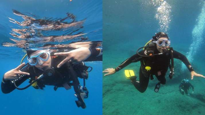 Priyanka Chopra spends 'much needed day in ocean' as she goes scuba diving in Spain | PICS