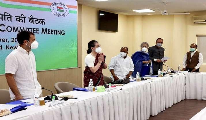 BJP mocks CWC as 'parivar bachao working committee', slams it for not reacting to Singhu border killing