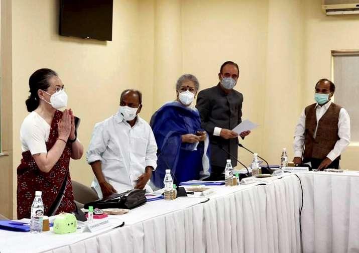 No need to speak to me through media: Sonia Gandhi's reminder to leaders at CWC meet