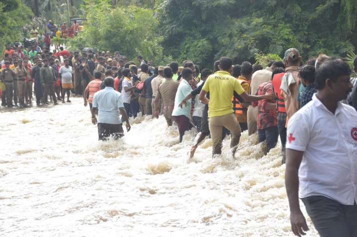 6 dead, over a dozen missing as heavy rains pound Kerala; red alert sounded, rescue teams on standby