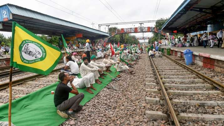 Rail Roko agitation: Protests will be intensified until justice is secured in Lakhimpur case, says SKM