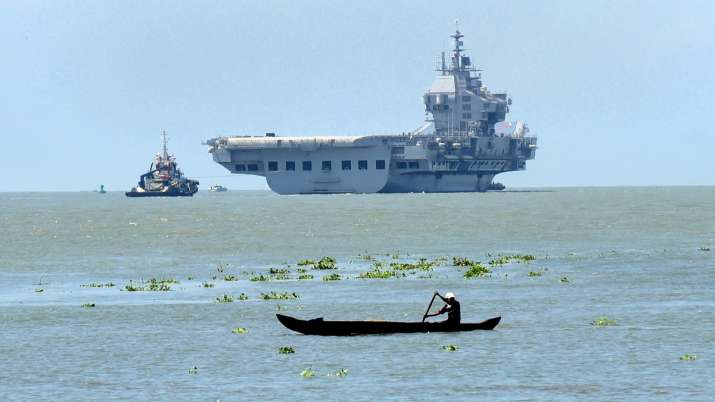 IAC Vikrant heads out for second sea trials from Kochi