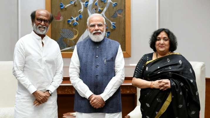 Rajinikanth meets PM Narendra Modi, President Ram Nath Kovind
