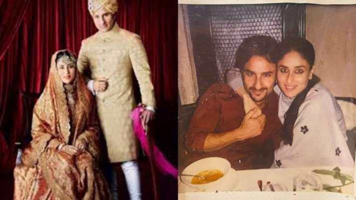 On Kareena Kapoor-Saif Ali Khan's anniversary, Saba shares video of special wedding moments | Watch