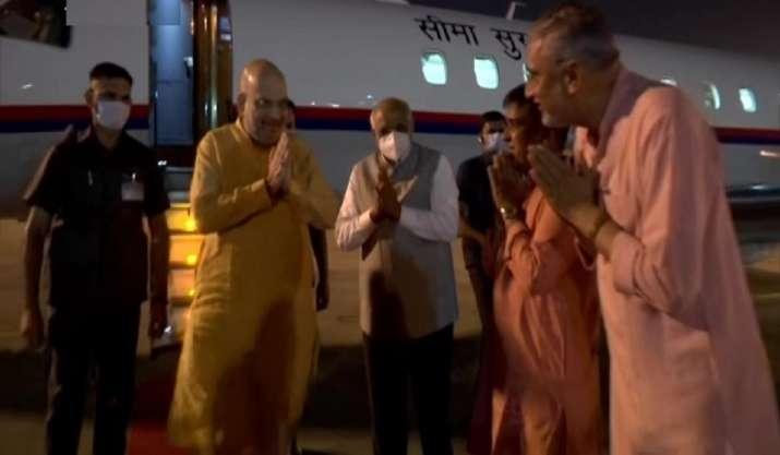 அமித் ஷா அகமதாபாத் வந்தார், பல நிகழ்ச்சிகளில் கலந்து கொள்வார் என்று எதிர்பார்க்கப்படுகிறது
