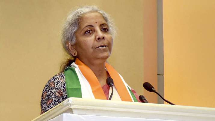 Union Minister for Finance and Corporate Affairs, Nirmala