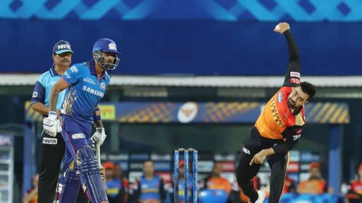 SRH vs MI Live Score IPL 2021: Rohit's Mumbai face Williamson-led Hyderabad, Toss at 7 PM