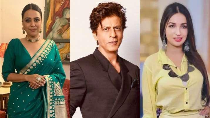 Swara Bhasker, Kanika Dhillon, Shah Rukh Khan